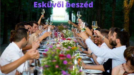 Esküvő beszéd